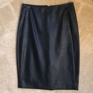 Brand New without tags Faux Leather Skirt